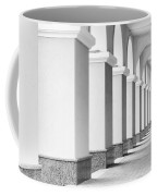 Monochrome Building Abstract 6 Coffee Mug