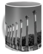 Monochrome Columns Coffee Mug