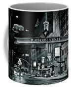 Monochrome Grayscale Palyhouse Square Coffee Mug