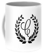 Monogram C Coffee Mug