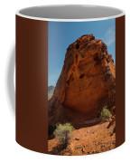 Monolith Sculpture Valley Of Fire Coffee Mug