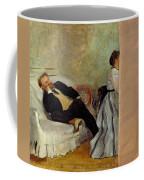 Monsieur And Madame Edouard Manet Coffee Mug