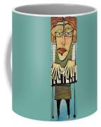 Monsieur Keys Sans Keyboard Extension Coffee Mug