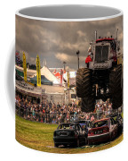 Monster Truck Destruction  Coffee Mug by Rob Hawkins