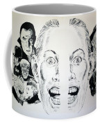 Monsters Then And Now Coffee Mug