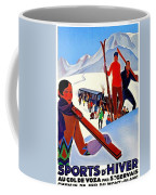 Mont Blanc, Mountain, France, Skiing Coffee Mug