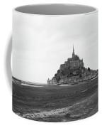Mont Saint Michel Black And White Coffee Mug