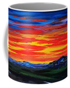 Montana Sunset Colors                     72 Coffee Mug