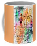 Montanita Kid With Dog Coffee Mug