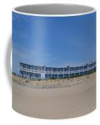 Building At The Beach, Montauk, Ny Coffee Mug