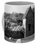 Montauk Guard House 2 B W Coffee Mug