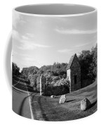 Montauk Guard House B W Coffee Mug