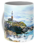 Montauk Point Light Coffee Mug