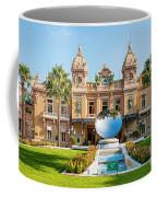 Monte Carlo Casino And Sky Mirror In Monaco Coffee Mug