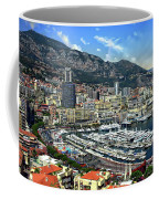 Monte Carlo Harbor View Coffee Mug