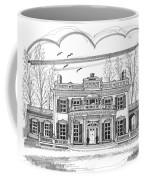 Montgomery Place Red Hook Ny Coffee Mug by Richard Wambach