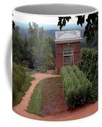 Monticello Vegetable Garden Pavilion Coffee Mug