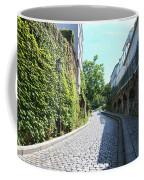 Montmarte Paris Cobblestone Streets Coffee Mug