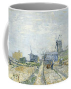 Montmartre   Mills And Vegetable Gardens Coffee Mug