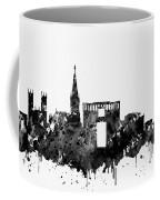 Montpellier Skyline-black Coffee Mug
