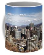 Montreal Seen From Above Coffee Mug