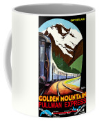 Montreux, Golden Mountain Railway, Switzerland Coffee Mug