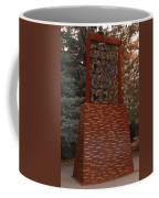 Monument At N M State Captial Coffee Mug