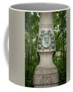 Monument Of Major Obrien In Jedlesee Vienna Coffee Mug