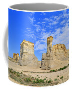 Monument Rocks In Kansas 2 Coffee Mug