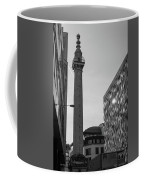 Monument To The Great Fire Of London Bw Coffee Mug