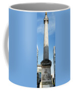 Monument To The Great Fire Of London Coffee Mug