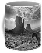 Monument Valley Horses Coffee Mug