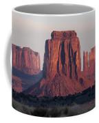 Monument Valley Sunrise 7288 Coffee Mug