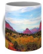 Monumental Bell Rock Vista Coffee Mug