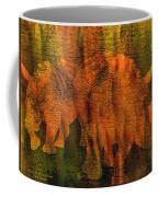 Moods Of Africa - Rhinos Coffee Mug