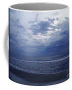 Moody Blue Beach Coffee Mug