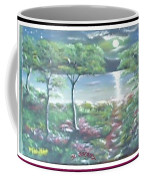 Moon And Forest Coffee Mug