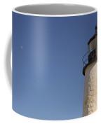 Moon And Pemiquid Lighthouse Coffee Mug