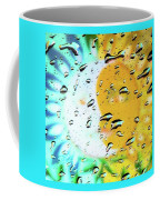 Moon And Sun Rainy Day Windowpane Coffee Mug