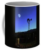 Moon And Windmill Coffee Mug