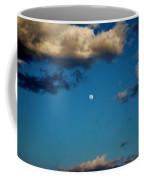 Moon Between The Clouds Coffee Mug