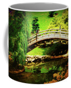 Moon Bridge At Huntington Coffee Mug