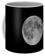 Moon In Night Sky Coffee Mug