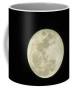 Moon In The Dark Sky Coffee Mug