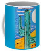 Moon Light Cactus L Coffee Mug
