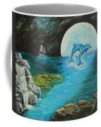 Moon Light Swim  Coffee Mug