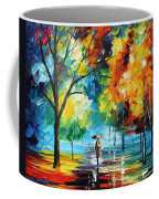 Moon Light Through The Rain Coffee Mug
