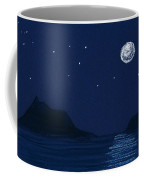 Moon On The Ocean Coffee Mug
