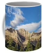 Moon Over Canmore Alberta Coffee Mug