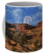 Moon Over Canyonlands Coffee Mug